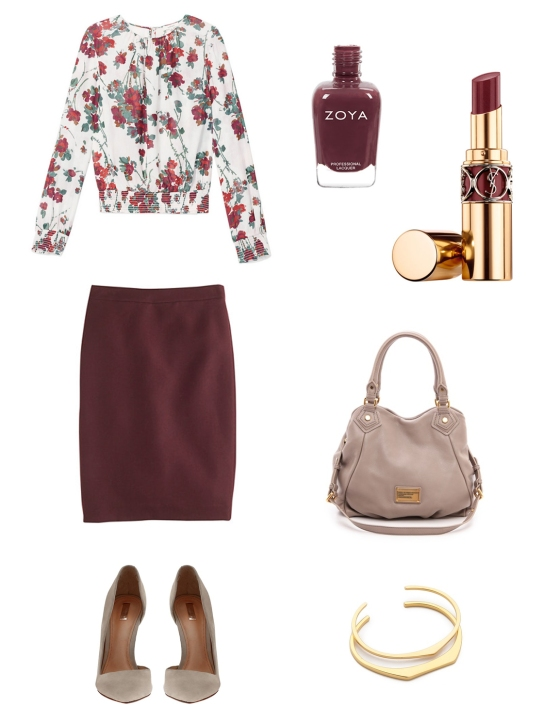{Outfit Inspiration} 9 to 5 no. 36 | Plum Pearls