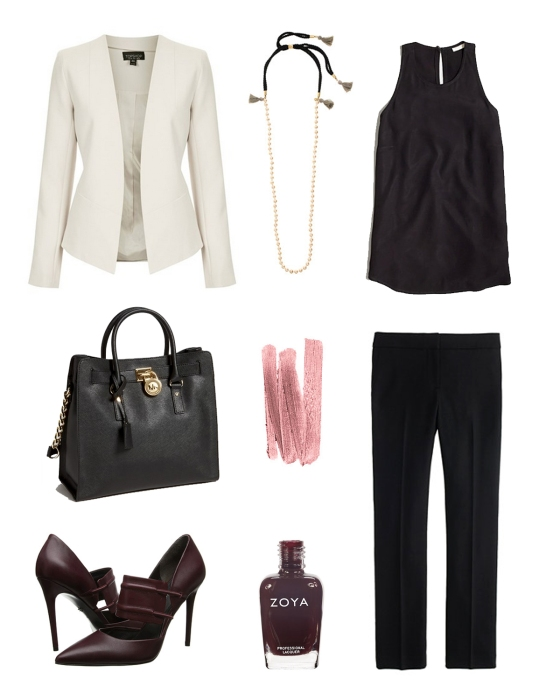 Outfit Inspiration: 9 to 5 | Plum Pearls