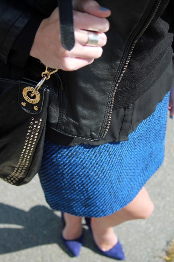 Black + Blue | Plum Pearls