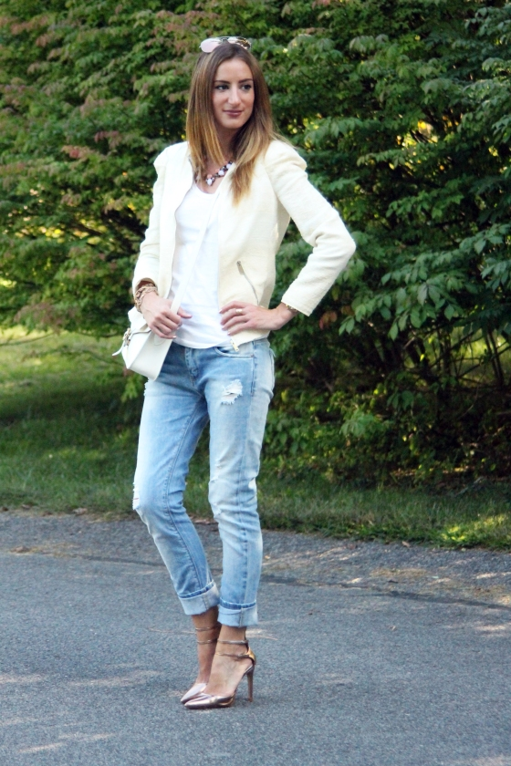 {Styling A White Tee: Play} | Plum Pearls