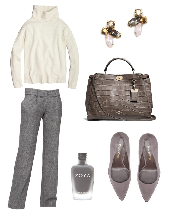 {Outfit Inspiration} 9 to 5 no. 46 | Plum Pearls