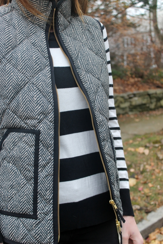 Stripes / Herringbone / Pop of Color
