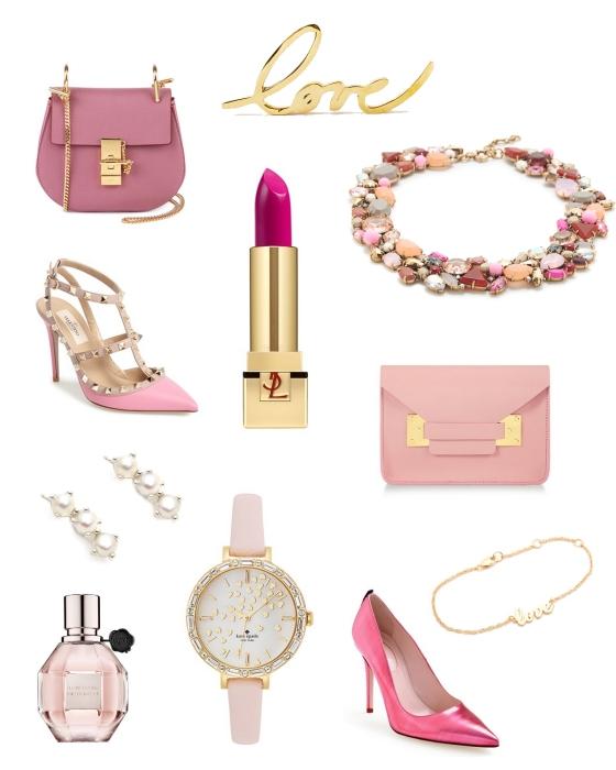Valentine's Day Accessories   Plum Pearls