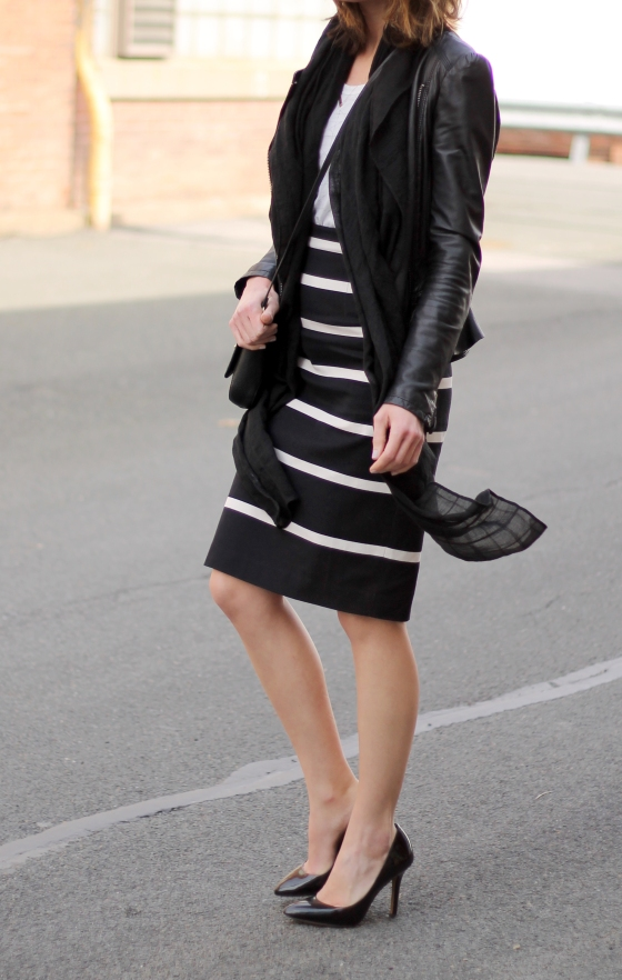 {Striped Pencil Skirt} | Plum Pearls