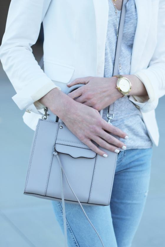 {Grey & Blush} | Plum Pearls